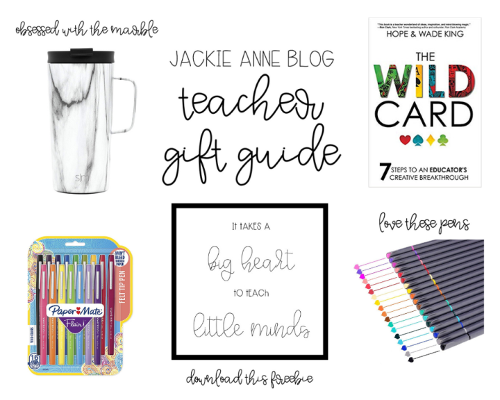 Affordable Gift Guide for Teachers