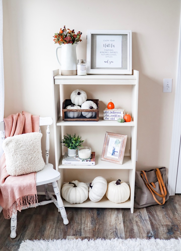 "Fall Bookshelf + ""Every Year I Fall For"" Freebie"